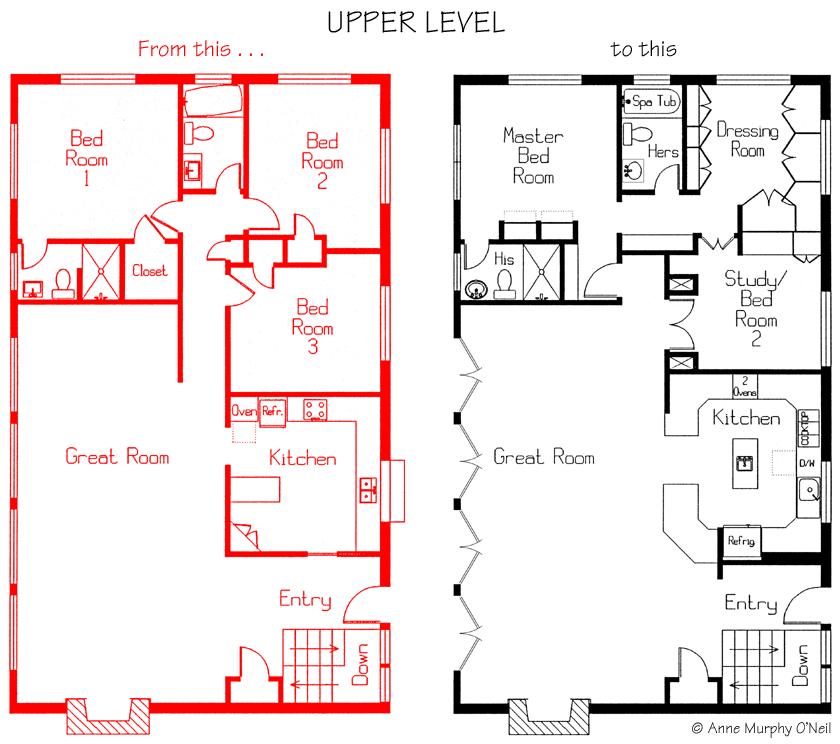 Amo design for Small room level 1